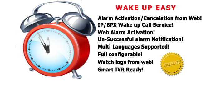 Wake up easy - VoIP Wake up Call
