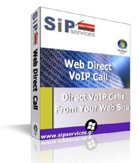 Web Direct VoIP Click2Call with your logo  image