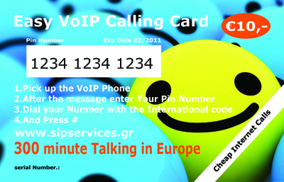 Voip Calling Card
